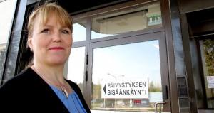 Pirjo Virtasen ensimmäinen työpaikka oli Loimaan aluesairaala. Kuva: Kati Uusitalo