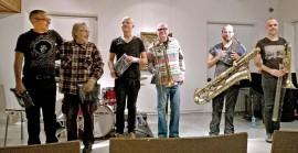 Jazz on iloinen asia. Kuva: Kati Uusitalo