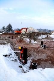 Tähän rakennetaan Alastaron uusi päiväkoti, yksityinen Touhula. Kuva: Pasi Salo