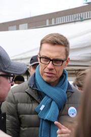 Alexander Stubb kävi kirittämässä vaalikampanjaa myös Loimaalla.
