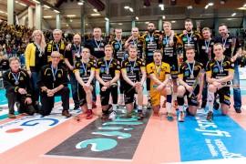 Hurrikaanin kausi päättyi jo neljäntenä peräkkäisenä vuonna SM-mitaliin, tänä vuonna tuli SM-hopeaa. Kuva: Tommy Lågand/Mestaruusliiga.