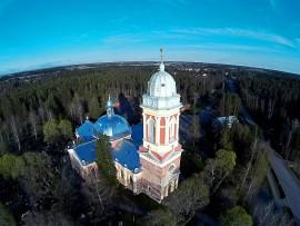 Hirvikoski: Kanta-Loimaan kirkko. Kuva: Harry Willman.
