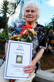 Hanna Huhtalasta tuli vuoden 2015 Kuuhullu. Kuva: Marianne Rovio