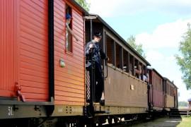 Jokioisten Museorautatien toimintaa kehitetään parinkymmenen vuoden tähtäimellä. Toiminnan keskeisenä tarkoituksena on säilyttää suomalaista kapearaiteisten rautateiden historiaa. Kuva: Kiti Salonen