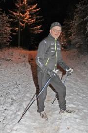 Kari Merikanto kertoi olevansa innokas kuntoilija. Kuva: Tiina Naula