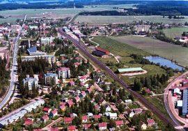 Niin sanottua Moskovan aluetta näkyy kuvan alalaidassa.
