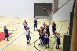 Lokoko 08 White ja 09 Blue pelasivat toisiaan vastaan sunnuntaina. Kuva: Marianne Rovio