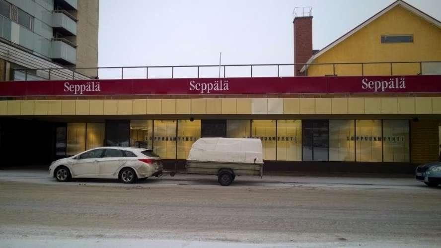 Torivarsi tyhjenee. Kuva tammikuu 2017. Kuva: Jukka Ristimäki.