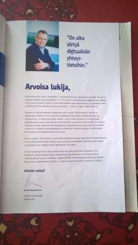 Loimaa 2017 Viimeinen painettu puhelinluettelo. Kansikuva ja selostus ks. Kuva: Jukka Ristimäki.