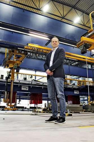 Jaakko Heikonen astui Pemamekin toimitusjohtajaksi viime vuoden keväällä. Samoihin aikoihin käynnistyi tehdaslaajennus.