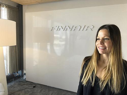 Finnairin Minttu Sinisalo puhuu tapahtumassa kello 13.