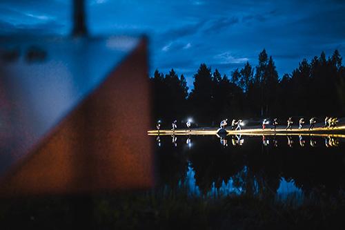 Jukolan yöosuus Paimiossa vuonna 2015. Kuva: TS/Mikael Rydenfelt.