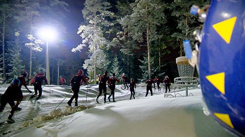 Paksu lumikerros on mahdollistanut ladut pururadoille, mutta jääladut odottavat vielä jäätilanteen vahvistumista.